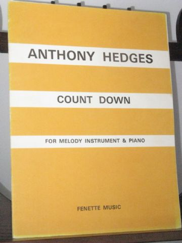Hedges A - Count Down for Melody Instrument and Piano